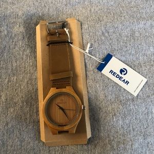Other - Handmade Redear bamboo watch